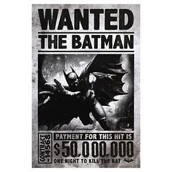 Art.com Batman Arkham Origins Wanted Poster