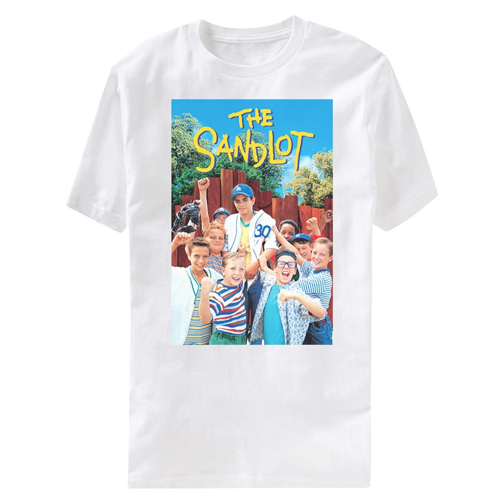 Mens M Sandlot T-Shirt White