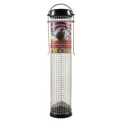 "Droll Yankees American Bird 13"" Woodpecker Feeder - Black"