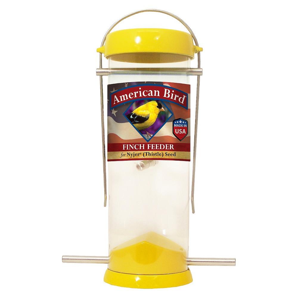 Droll Yankees American Bird 8 Finch Feeder - Yellow