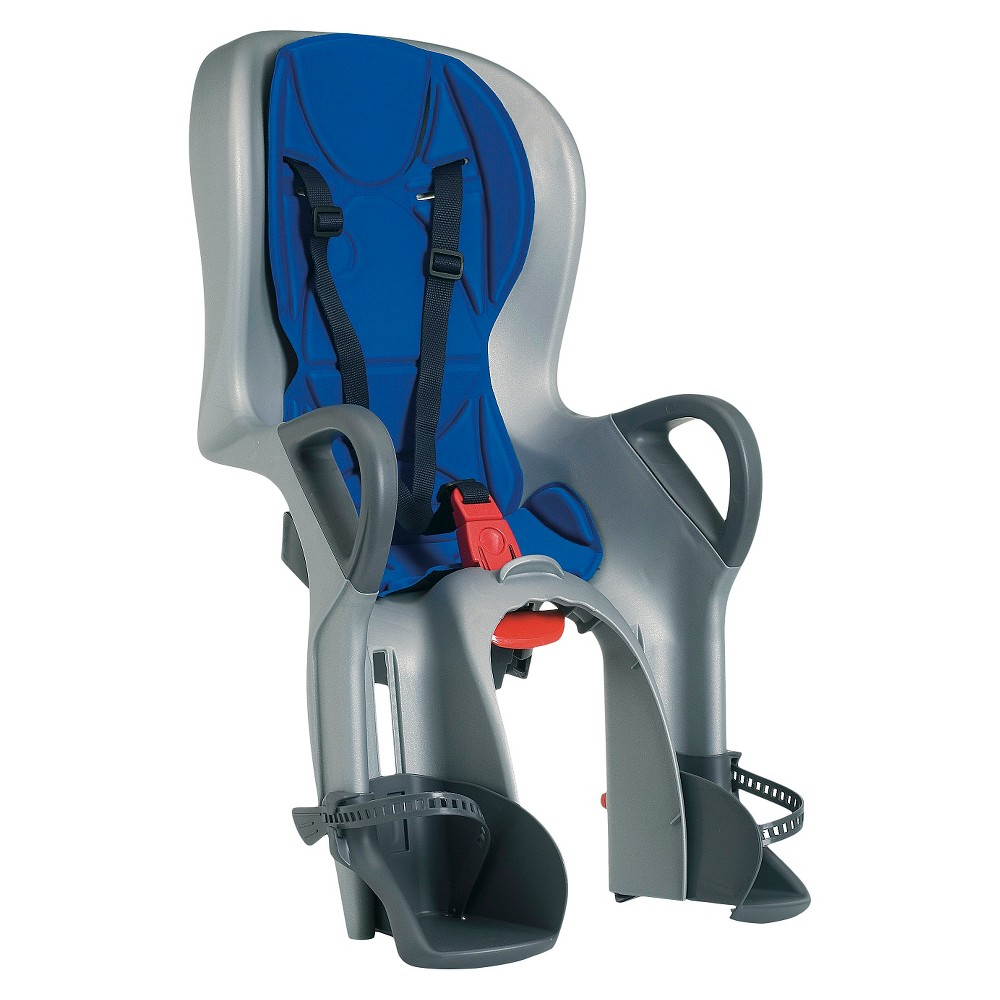 Peg-Perego 10+ Blue/Gray-Rear Mounted Bicycle Child Carri...