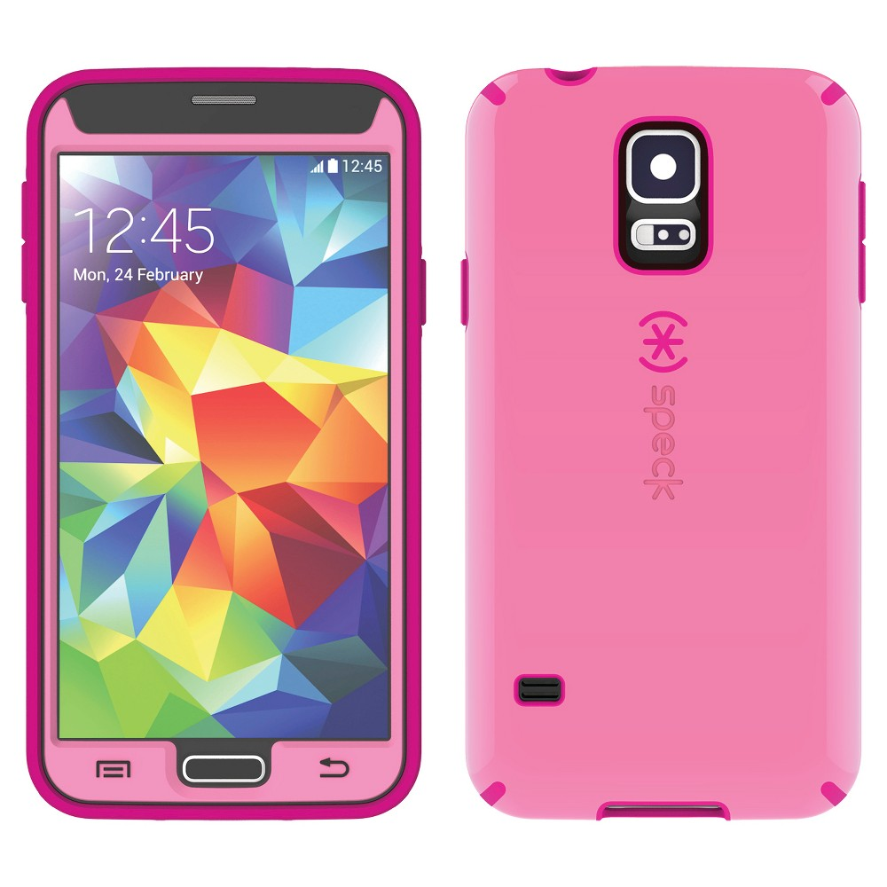 Speck GS5 CandyShell + Faceplate Pink