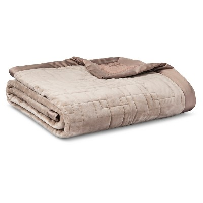 Blanket - Beige (Queen)- Fieldcrest™