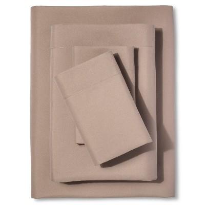 Microfiber Sheet Set Silver Mink (Twin)- Room Essentials™
