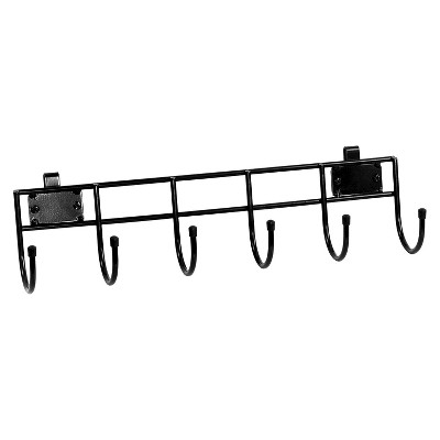 Room Essentials™ Garage Wall 6-Hook - Black