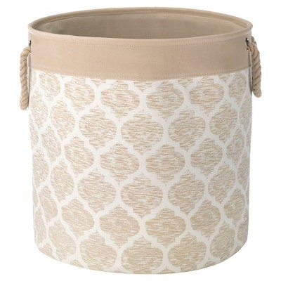 Decorative Hamper with Rope Handles - Khaki - Threshold™