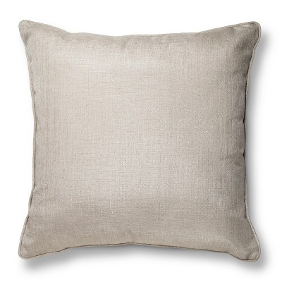Gold Oversized Metallic Throw Pillow (24 X24 )- Threshold™