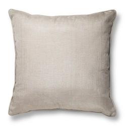 """Gold Oversized Metallic Throw Pillow (24""""X24"""") - Threshold™"""