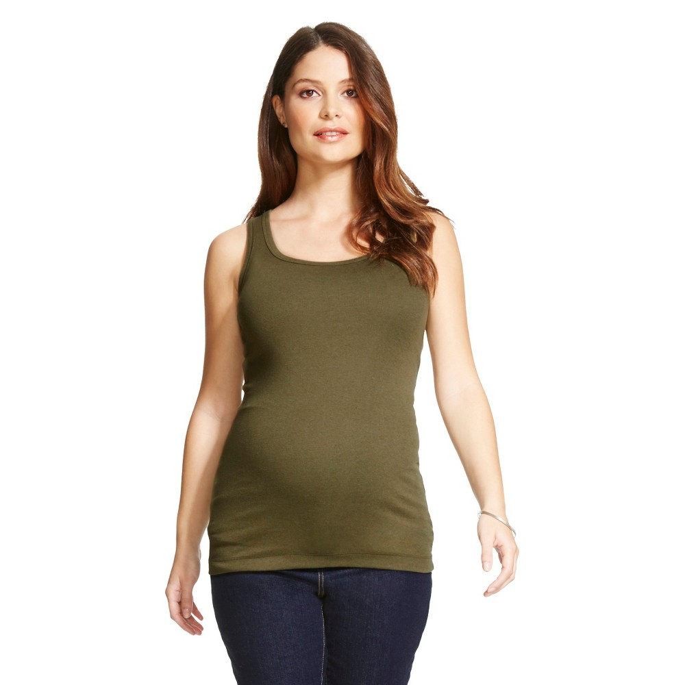Maternity Tank Top - Wreath Green M - Liz Lange for Target,  Women's plus size,  plus size fashion plus size appare