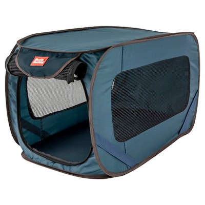 Pop-Open Dog Kennel - M - Blue - Boots & Barkley™