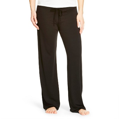 Eve Alexander Maternity Sleep Pants L Black