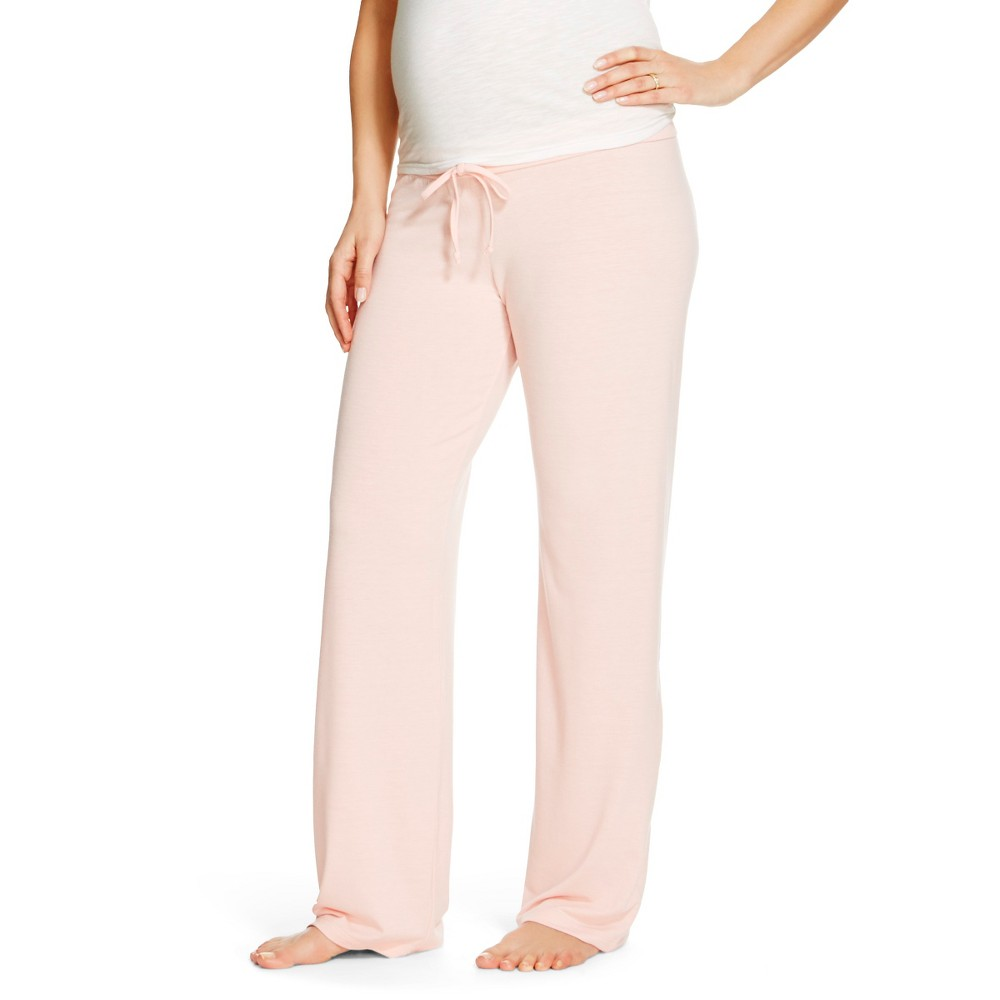 Eve Alexander Womens Maternity Sleep Pants M Blush Peach