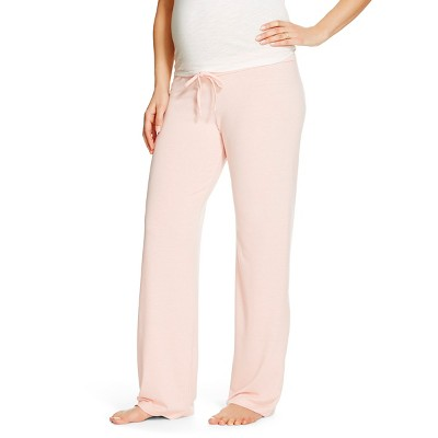 Eve Alexander Maternity Sleep Pants L Blush Peach
