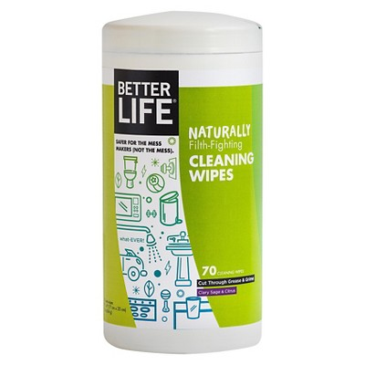 Better Life Clary Sage & Citrus All-Purpose Cleaning Wipes - 70ct
