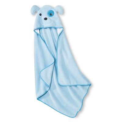 Newborn Boys' Hooded Bath Towel Blue – Circo™
