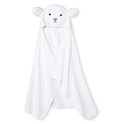 Newborn Bath Towel - White Circo™