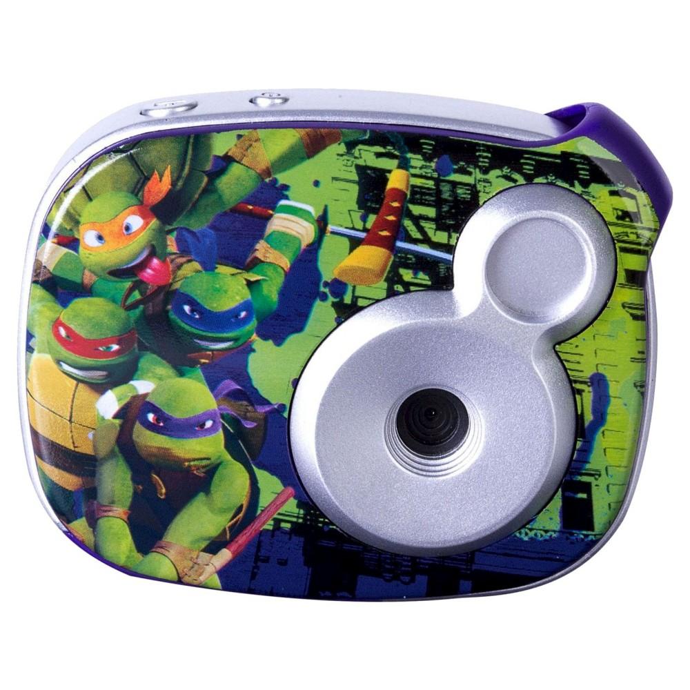 Toshiba Teenage Mutant Ninja Turtles 2.1MP Digital Camera - Green/Purple (98365), Multi-Colored