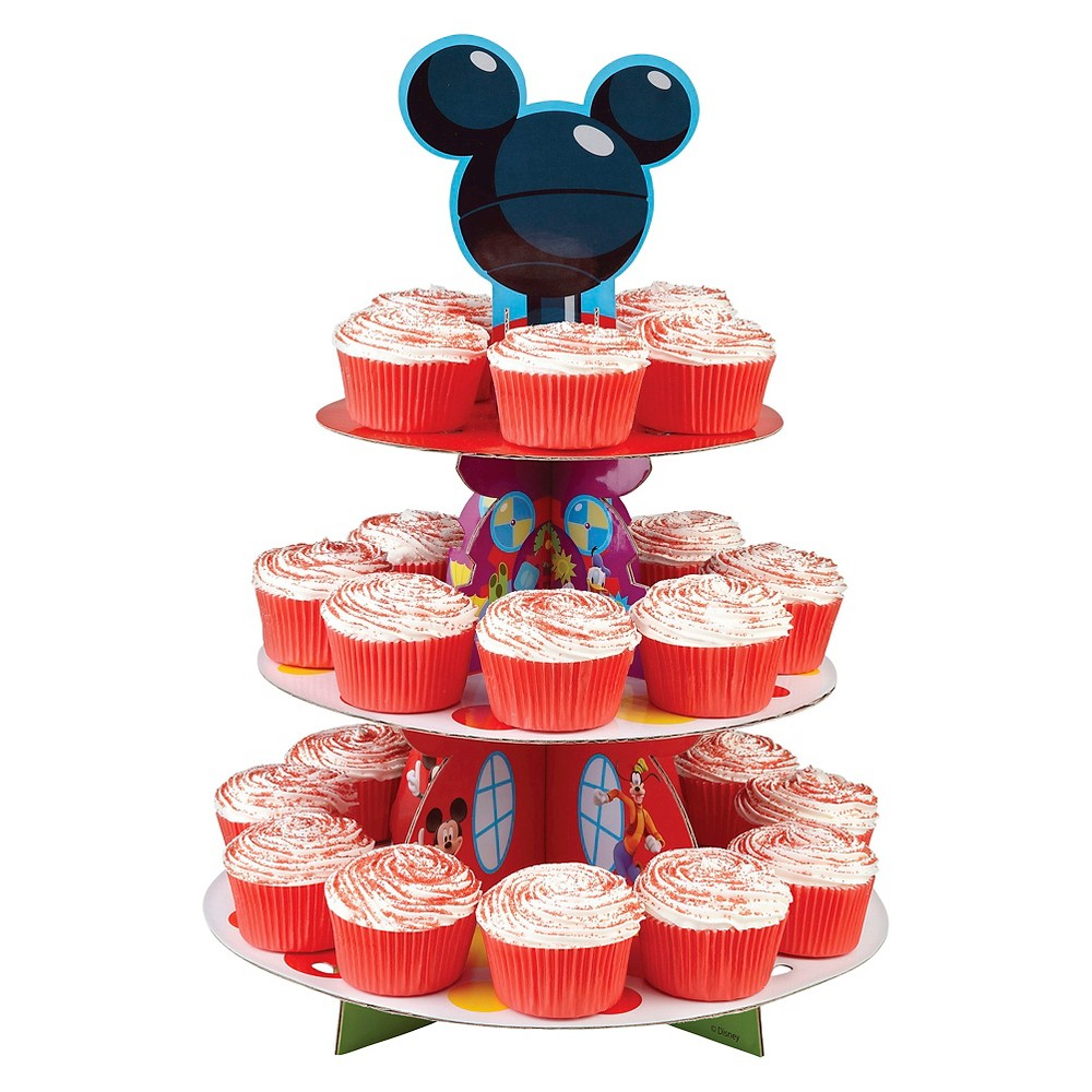 Wilton Disney Mickey Mouse Clubhouse Cupcake Treat Stand, Multi-Colored