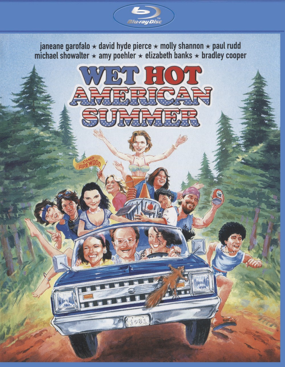 Wet Hot American Summer (With Movie Cash) (Blu-ray)