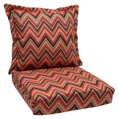 sunbrella fischer outdoor one piece seat and back cushion