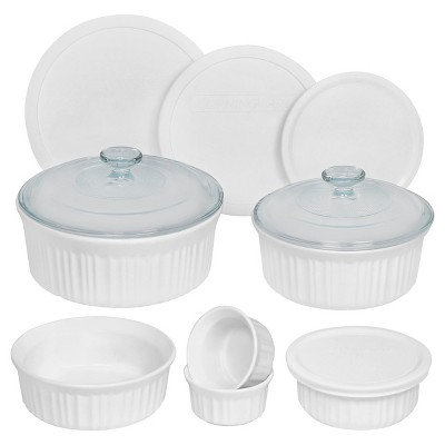 Corningware 12 Piece Round Bakeware Set