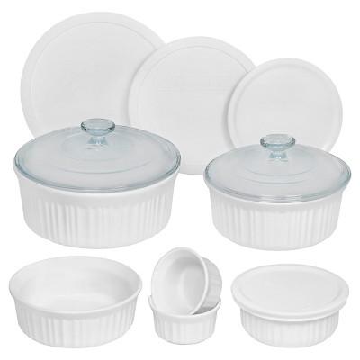 Corningware 12 Piece Round Bakeware Set