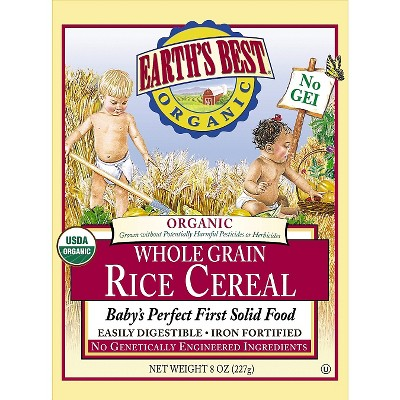 Earth's Best Rice Cereal - 8oz (3 pk)