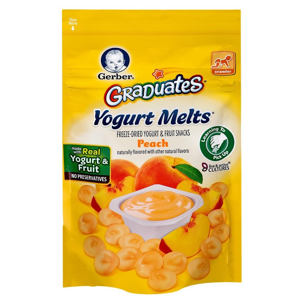Gerber Yogurt Melts Peach - 1oz (3pk)