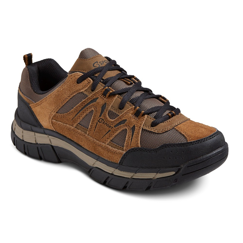 Mens S Sport Designed by Skechers Ascender Performance Athletic Shoes - Brown 8.5