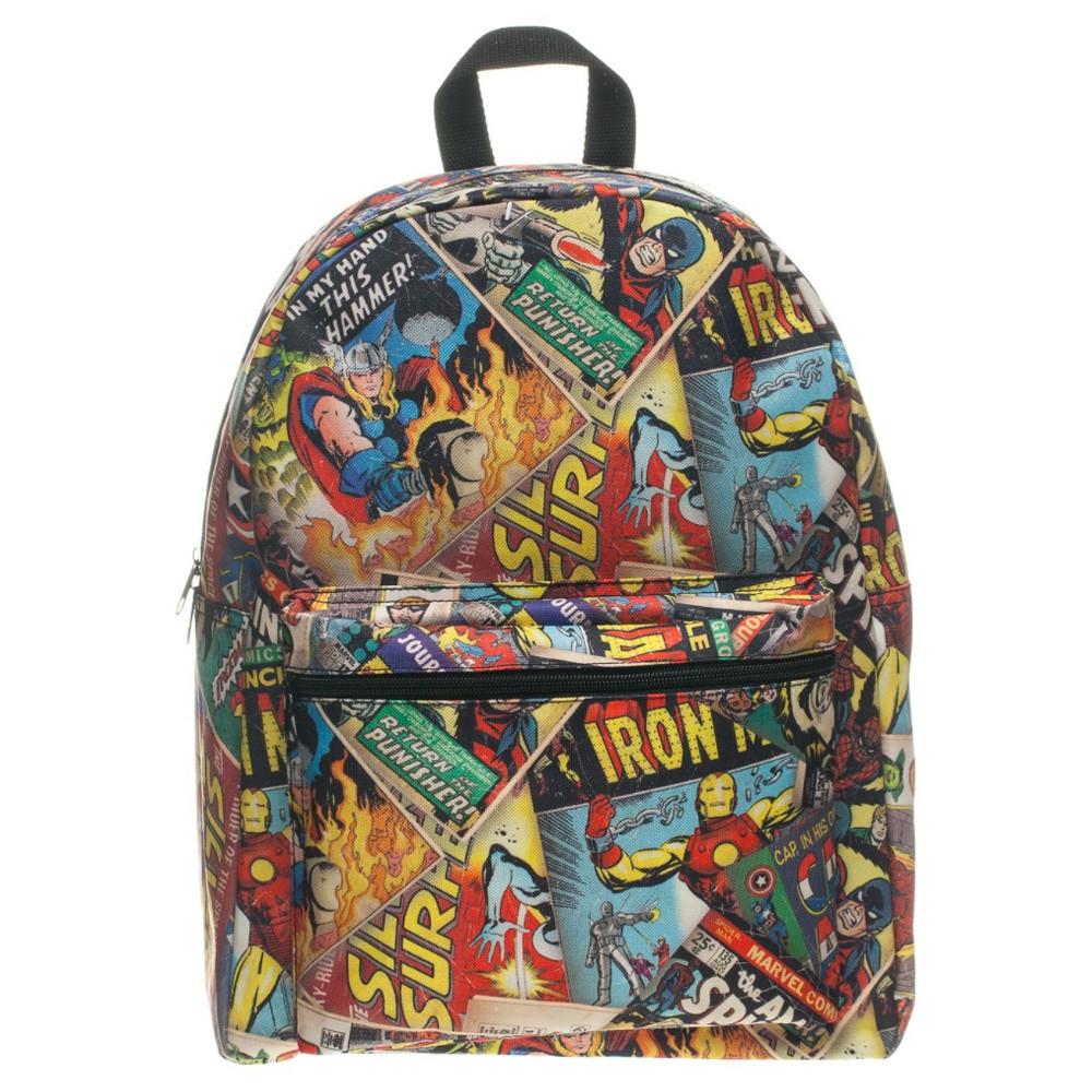 Marvel Comic Cover 19.5 Backpack, Mult