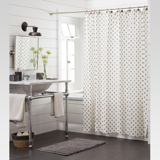 Floral Shower Curtain Threshold Target