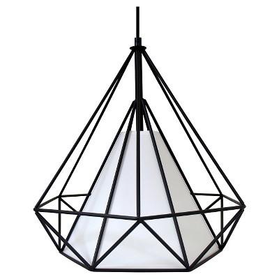 Lumisource Metal Hanging Hedron Pendant Lamp