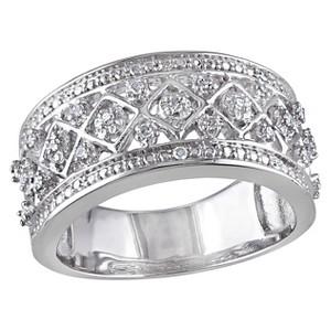 Allura 1/7 CT. T.W. Diamond Ring in Sterling Silver (GH) (I2:I3) (8), Women