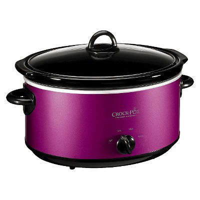 Crock-Pot® 6 Qt. Manual Slow Cooker - Purple SCV603