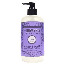 Mrs. Meyer's Clean Day Liquid Hand Soap, Lilac, 12.50oz