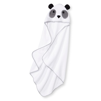 Newborn Bear Hooded Bath Towel - White Circo™