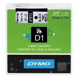 DYMO® D1 Standard Tape Cartridge for Dymo Label Makers, 3/8in x 23ft, Black on White