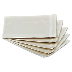 Quality Park Front Self-Adhesive Packing List Envelope-6 x 4 1/2 - Clear (1000 Per Box)