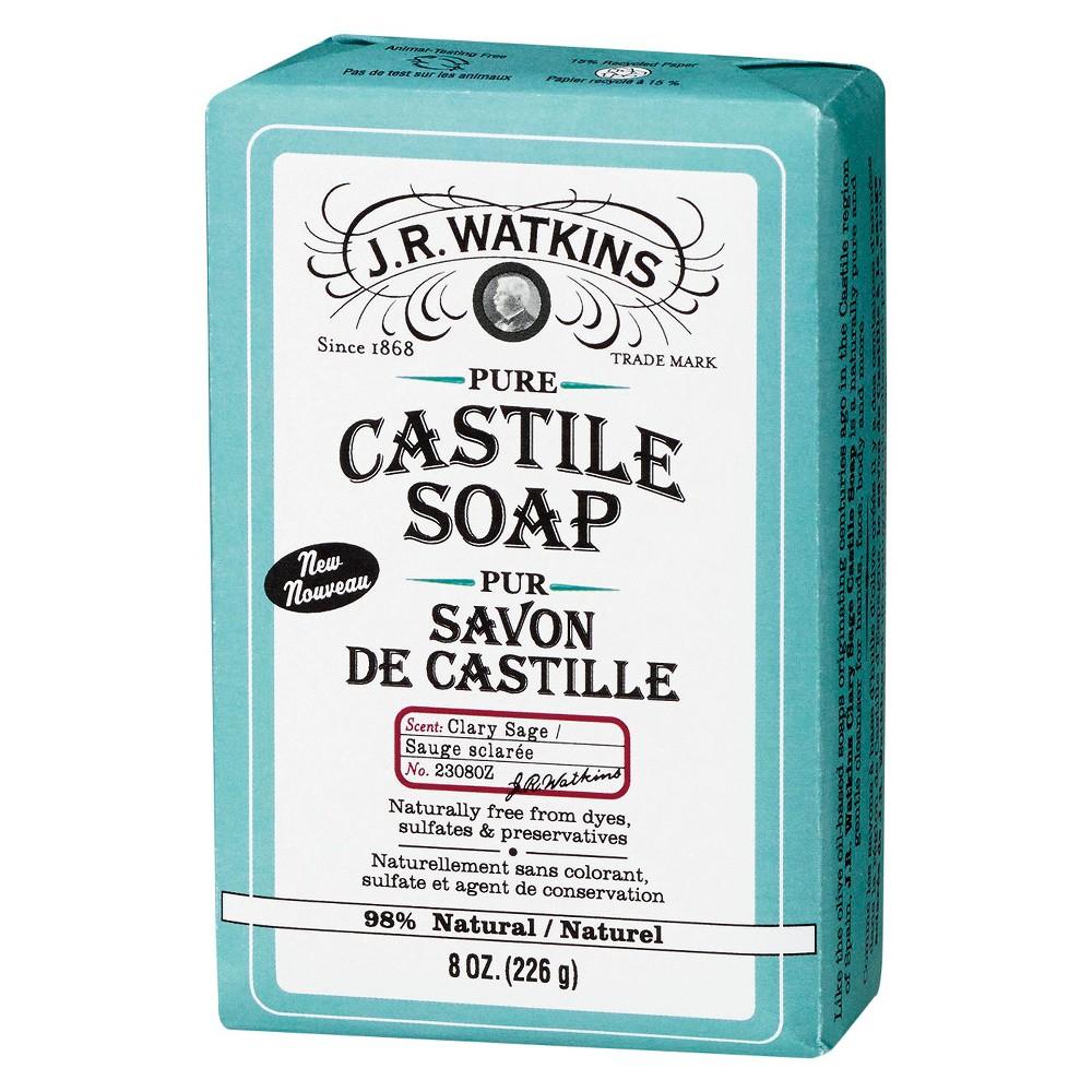 J R Watkins J.R.Watkins Clary Sage Castile Soap - 8 oz