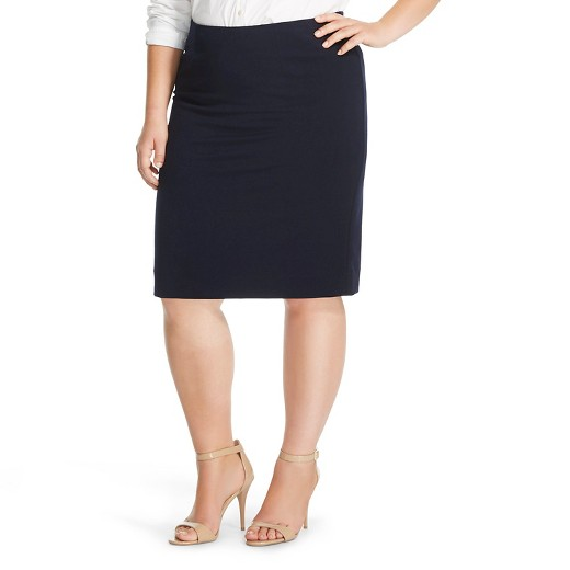 s plus size suiting skirt merona target