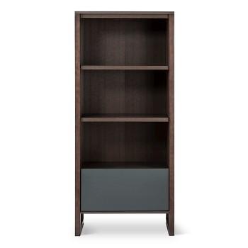 Berton 3-Shelf Bookcase