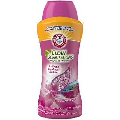 Arm & Hammer Clean Scentsations Tropical Paradise In-Wash Scent Booster - 37.8oz