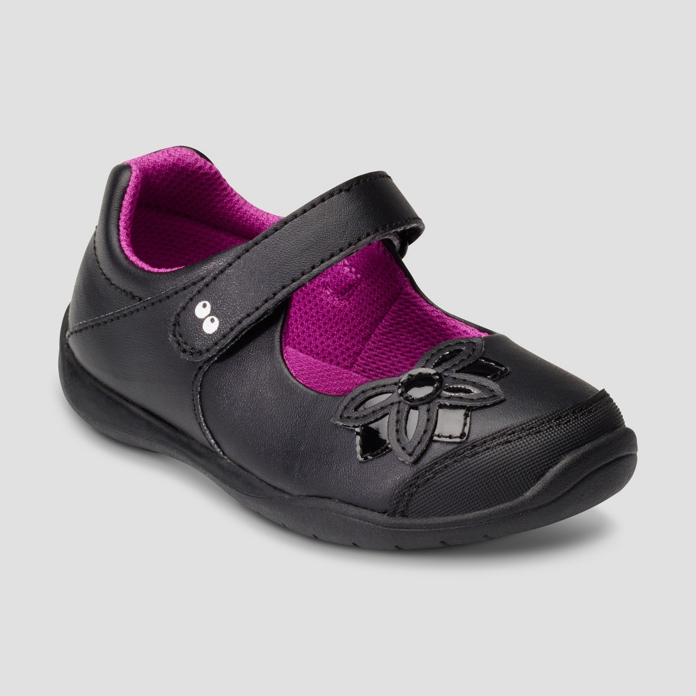Toddler Girls Surprize by Stride Rite Katelyn Mary Jane Shoes - Black 5