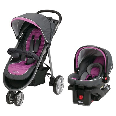 Graco Aire3 Click Connect Travel System SnugRide Click Connect 30 - Nyssa