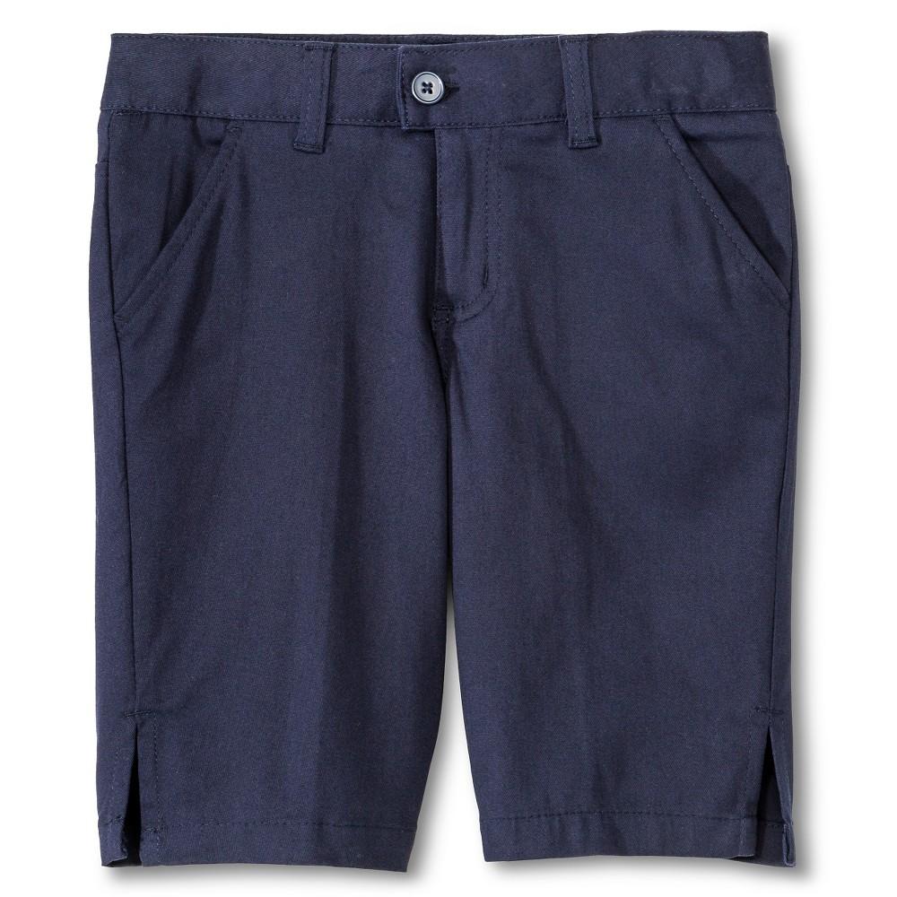 French Toast Girls Bermuda Shorts - Navy (Blue) 4