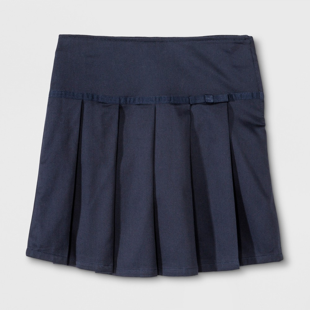 French Toast Girls Grosgrain Ribbon Scooter - Navy (Blue) 16