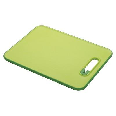 Joseph Joseph® Slice U0026 Sharpen™ Chopping Board With Integrated Knife  Sharpener   Green (Small)