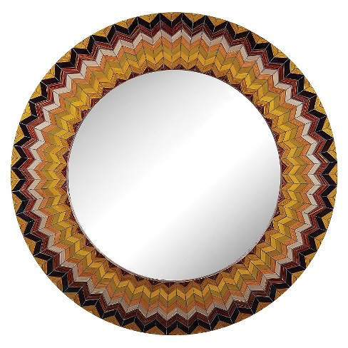 Round Decorative Wall Mirror - Lazy Susan - image 1 of 1