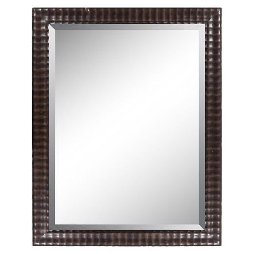 Decorative Wall Mirrors At Target : Rectangle chatwyn decorative wall mirror surya target