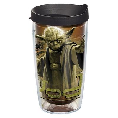 Star Wars® Yoda Tumbler with Lid 16oz Plastic